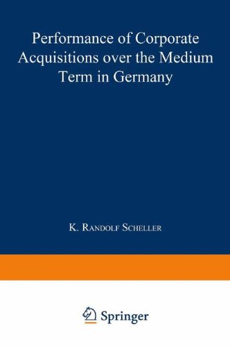 Performance of Corporate Acquisitions over the Medium Term in Germany