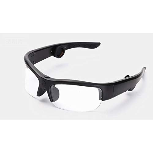 RHXX Bluetooth Bone Conduction Headphones Sonnenbrille Drahtlose Offene Ohrhörer Mit Musik Hören Und Telefonieren Sport Unisex-Design,Clear