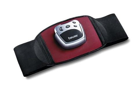 Beurer EM 30 Bauchmuskel-Gürtel, EMS Bauch-Training mit 2 Kontaktelektroden, 5 Trainingsprogrammen