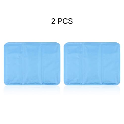 Pgige 2 Pieces Summer Cool Gel Pad Pillow Sleeping...