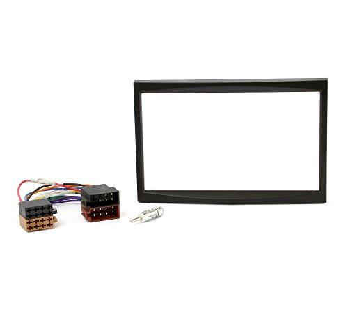 Noir C/âble adaptateur dantenne Adaptateur Water Mark Kit de montage encastr/é pour autoradio pour BMW Z4/E85/E86/Fa/çade dautoradio