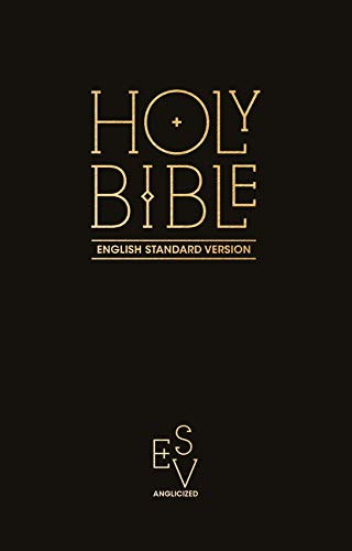 Holy Bible: English Standard Version (ESV) Anglicised Pew Bible (Black Colour) (Collins Anglicised ESV Bibles) por Collins Anglicised ESV Bibles