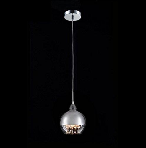 Casa Padrino Jugendstil Decken Hängelampe Nickel 15 x H 100 cm Antik Stil - Möbel Lüster Leuchter...