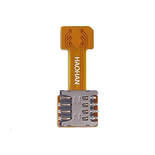 Velidy Dual SIM Karte Micro SD Adapter für Android Extender 5 Nano SIM Micro SIM Mini SIM Adapter für XIAOMI REDMI Note 3 4 3 s pro Max (micro SIM)