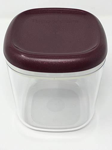 Tupper Tupperware Skyline glasklar luftdicht 780ml Kaffeedose Vorrat Eleganzia Exklusiv Clear Collection lila Glitzer