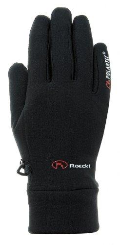Roeckl Pino Winter Fahrrad Handschuhe lang schwarz: Größe: 9