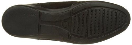 Geox U Efrem A, Chaussures à Lacets Homme Noir (Blackc9999)