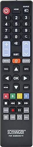 SCHWAIGER -5699- Ersatzfernbedienung/Universal-Fernbedienung/Remote Control/TV-Fernbedienung für alle Samsung TV-Geräte/TV Universal Fernbedienung -