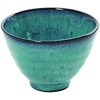 Cuencos Forma cónica de Serax, cerámica, disponible en verde y blanco o turquesa, diámetro 11cm H 7,5cm, cerámica, turquesa, ø 11 cm - H 7,5 cm