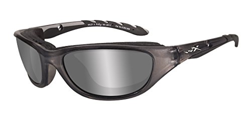 Wiley X Schutzbrille Airrage aus der Climate Control Kollektion, Crystal Metallic, S-M, 697