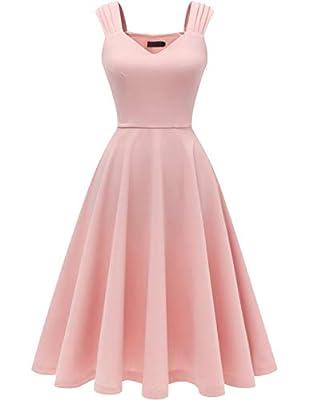 Dresstells® Women's Bridesmaids Vintage Tea Dress 50s Retro Prom Party Swing Cocktail Dress
