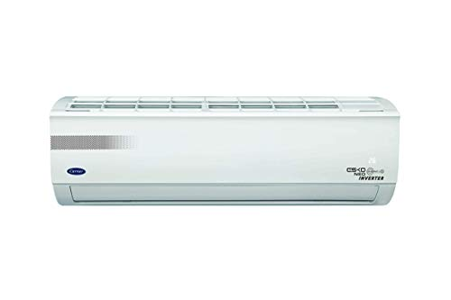 Carrier 1.5 Ton 5 Star Inverter Split AC (Copper, CAI18EK5R39F0+CI185R3CH90, White)