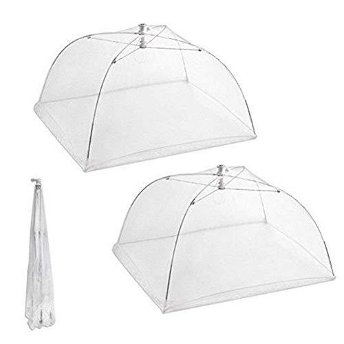 Tolyneil bianco mesh alimentare copertura rimovibile lavabile pieghevole cover outdoor picnic coprivivande in rete pezzi