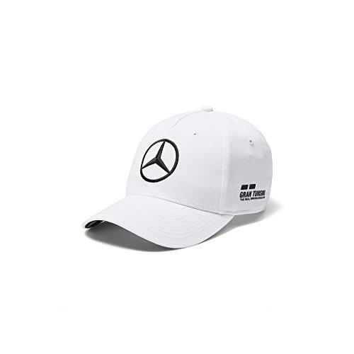 Mercedes AMG F1 Team Driver Puma Hamilton Niños Gorra Blanco Oficial 2018