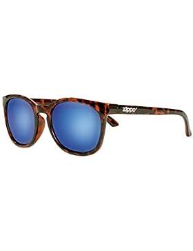 Zippo Revo Multi Lens Gafas de Sol, Unisex, Demi Brown, Medium
