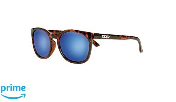 Zippo Revo Multi Lens Lunettes de Soleil Mixte, Demi Brown, M
