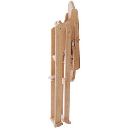 East Coast Nursery Ltd - EAST COAST All Wood Folding Highchair