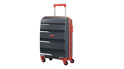 american-tourister-bon-air-reisetrolley-l-grey-orange-91-liter-limitiert