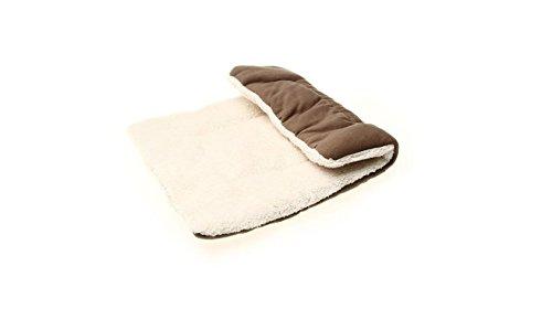 Hodgea Braun Hundebett Kissen Decken Hundekissen Matte Schlafplatz für Hund Katzen Haustier S