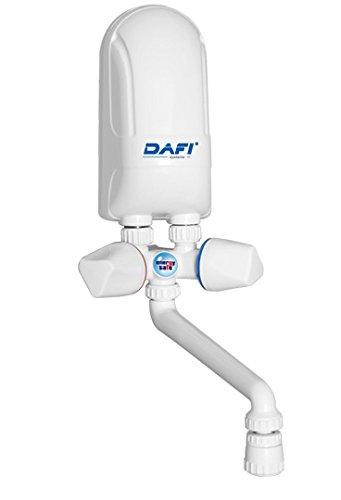 Sofortige elektrische Warmwasserbereiter Boiler Handwäsche 3,7kW weißem Kunststoff Auslauf