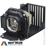 Lampe Alda PQ de remplacement compatible ET-LAB80 pour vidéoprojecteur PANASONIC PT-LB75 PT-LB75NT PT-LB80