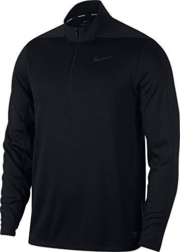 Nike Golf-bekleidung (Nike Herren Dri-FIT Golfoberteil, (Black), L)
