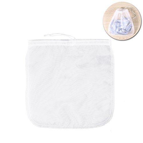 UPKOCH Nuss-Mandel-Milch-Beutel-wiederverwendbarer Nylonmaschen-Nahrungsmittelfilter-Kaffee-Tee-Filter 200μm