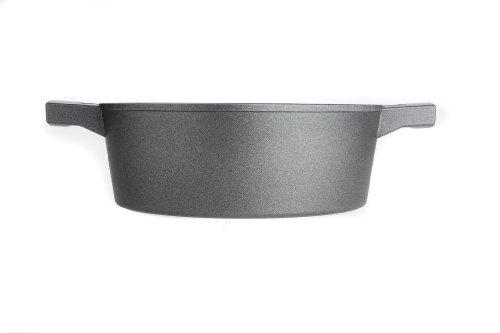 Woll 824LCL Logic - Cazuela Hierro Fundido, 24 cm de diámetro, 9 cm de Alto, 4 L, Contiene...