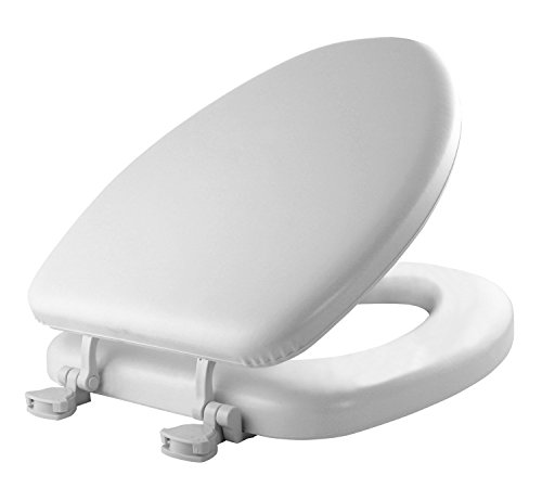 Groovy Mayfair Bemis White Elongated Deluxe Soft Toilet Seat 113Ec000 Pabps2019 Chair Design Images Pabps2019Com