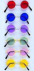 Lennon Style Brille blau