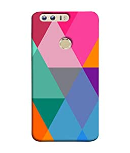 PrintVisa Diamond In A Rough 3D Hard Polycarbonate Designer Back Case Cover for Huawei Honor 8