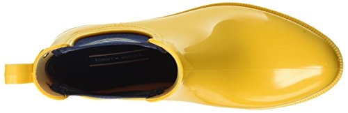 Tommy Hilfiger Damen O1285dette 7r Schlupfstiefel Gelb (OLD GOLD 700)