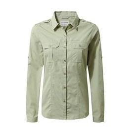 Craghoppers Damen Adventure Shirt Bush Green 44