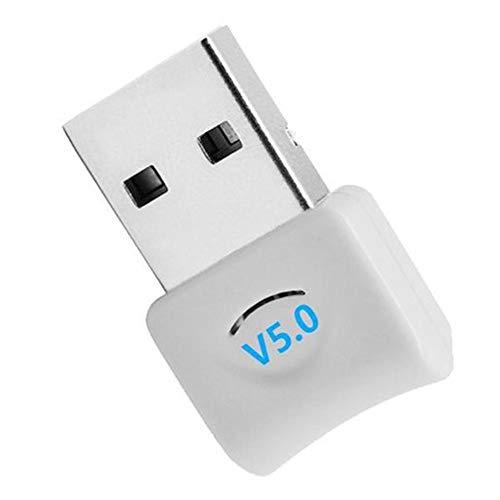 jinclonder Plugable USB Bluetooth 5.0 Adapter, Desktop Wireless WiFi Audio Empfänger Sender Dongle für Computer PC PS4 Maus Aux Audio Bluetooth 5.0 Lautsprecher Musik -