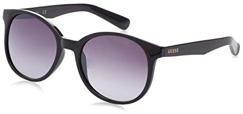 Guess Damen GF6000_01B Sonnenbrille, Schwarz (Nero), 45