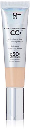 A multi-purpose, color-correcting cream developed with plastic surgeons Works as a brightening color corrector, anti-aging serum, poreless-finish primer, dark spot concealer & moisturizing day cream Contains hydrolyzed collagen, peptides, niacin,...