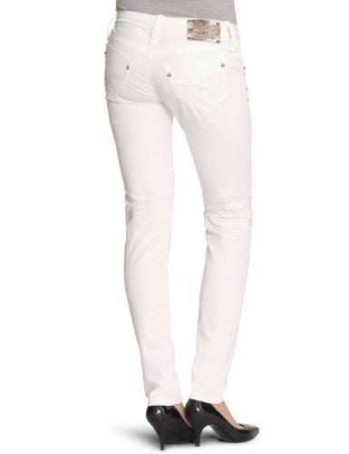 Fornarina Jeans BER1E05R16009, Skinny/Slim Fit Weiß (white)