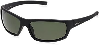 Polaroid - Gafas de sol Rectangulares P8411 para hombre