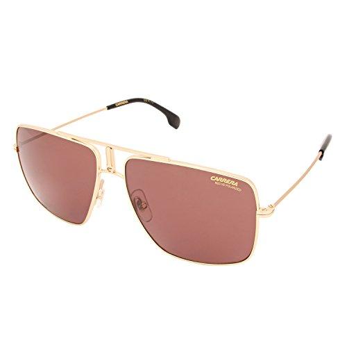 S W6 J5G Sonnenbrille, Gold/Burgundy Pz AR, 60 ()