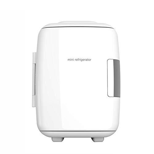Yuany 4L Mini réfrigérateur, congélateur de Voiture Domestique respectueux de l'environnement de réfrigérateur Basse énergie,White,4L