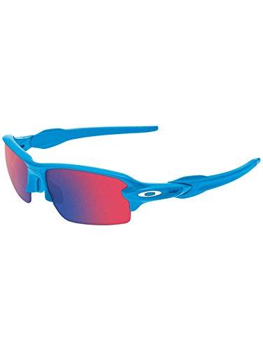 Oakley Herren Sonnenbrille Flak 2 Blau (Sky/Positiverediridium), 59