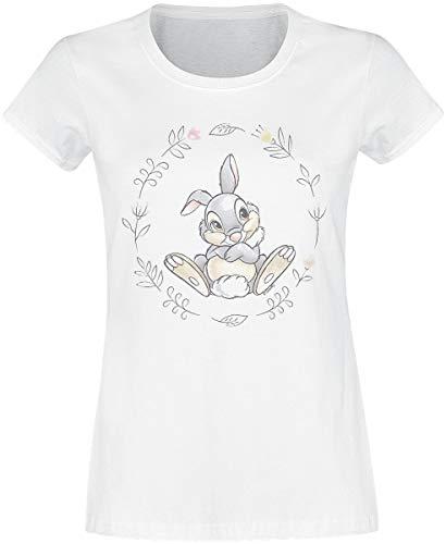 Bambi Klopfer T-Shirt weiß S - Ein Klopfer