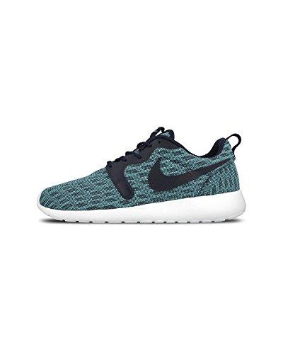 Nike Rosherun Kjcrd Herren Laufschuhe Blau