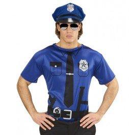 rt Unisex Costume Cop Fancy Dress (M/L) (Undercover Cop Kostüm)