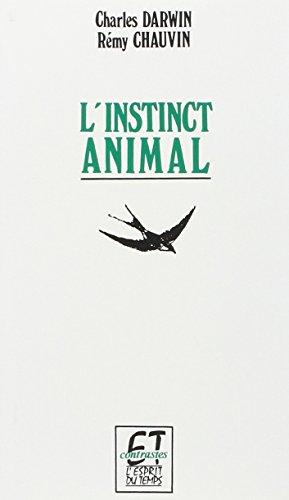 L'instinct animal par Charles Darwin
