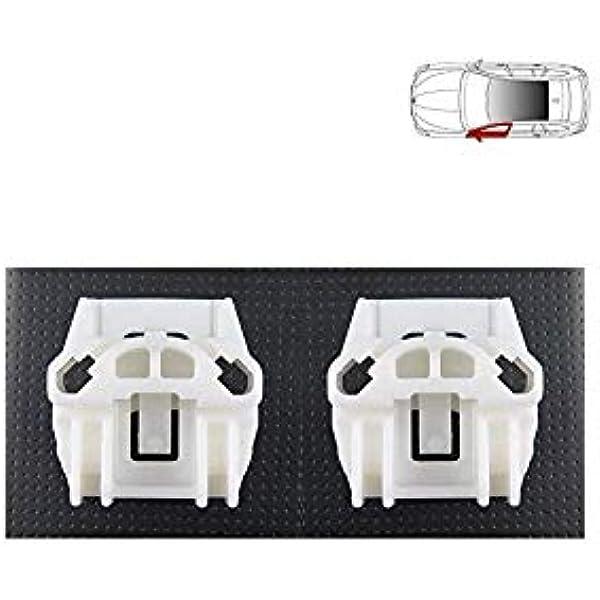 N//S MK4 LTS AUTO WINDOW REGULATOR REPAIR CLIPS KIT FRONT LEFT MK3 UK Passenger Side