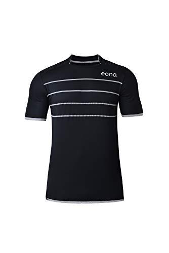 Amazon Marke: Eono Essentials schnell trocknendes Performance-Sport-Shirt für Herren (Größe M)
