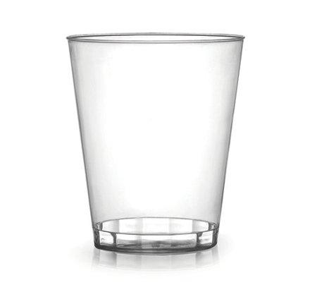 Lot de 40 gobelets en plastique transparent 200 ml