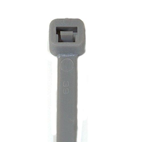 RheVeTec RheFLEX Kabelbinder 100 x 2,5 mm Grau, 100 Stück, R0010025GY