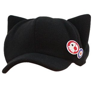 Rebuild of Evangelion Asuka Q cat ear hat Cosplay Costume (japan import)